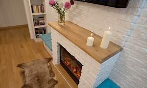 Декоративная плитка под кирпич