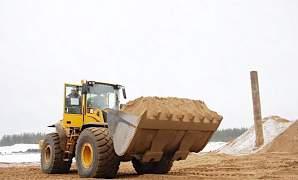 Песок строительный в розницу