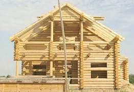 Рубленные Дома и Бани из древесины ценных пород