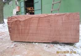Красное дерево (плаха 145см х60см х110см)